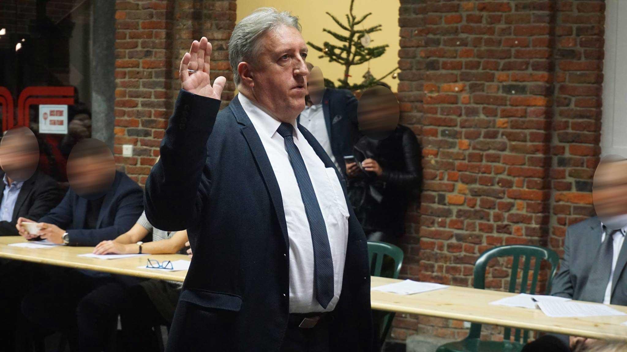 Prestation de serment en tant que Conseiller Communal Châtelet