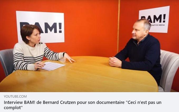 """Bernard Crutzen, réalisateur du documentaire """"Ceci n'est pas un complot"""", répond à certaines critiques."""
